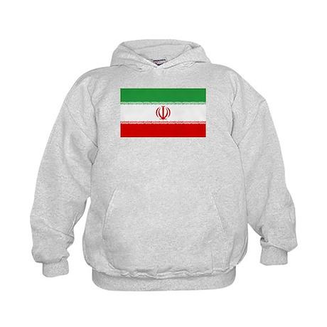 Iran Flag Kids Hoodie