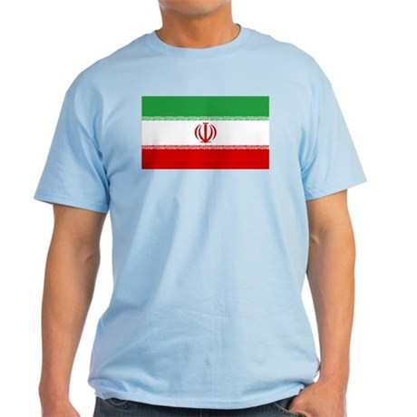 Iran Flag Light T-Shirt
