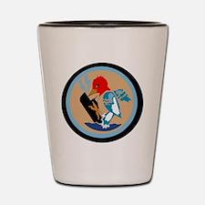 VP 49 Woodpeckers Shot Glass