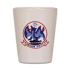 VP 50 Blue Dragons Shot Glass