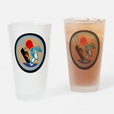 VP 49 Woodpeckers Drinking Glass