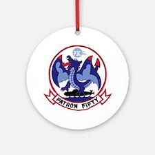 VP 50 Blue Dragons Ornament (Round) Ornament (Roun