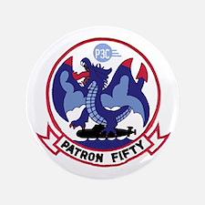 """Vp 50 Blue Dragons 3.5&Quot; 3.5"""" Button"""