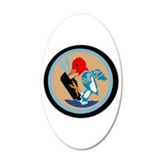 Vp 49 Woodpeckers 20X12 Oval 20X12 Oval Wall Decal