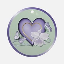 Orchid Elegance Ornament (Round)