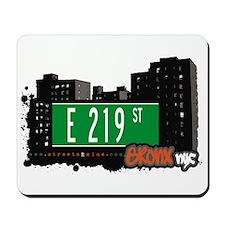 E 219 St, Bronx, NYC Mousepad