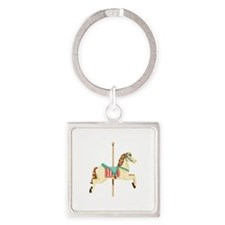 Carousel Horse Keychains