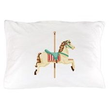 Carousel Horse Pillow Case