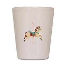 Carousel Horse Shot Glass