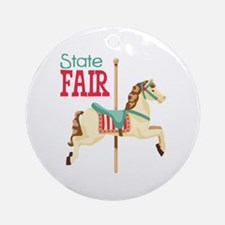 State Fair Ornament (Round)