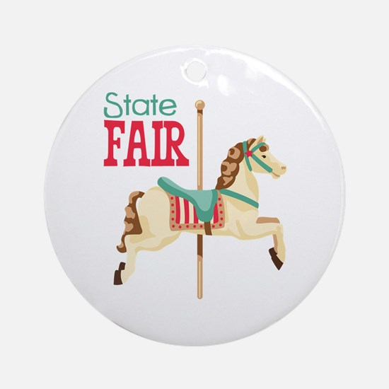 State Fair Ornament (Round)