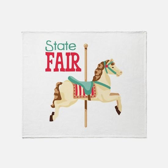 State Fair Throw Blanket