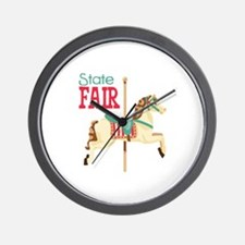 State Fair Wall Clock