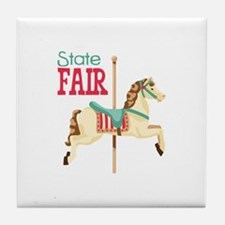 State Fair Tile Coaster
