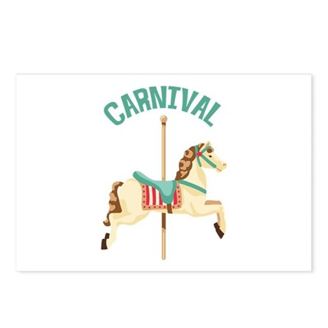 Carnival Postcards (Package of 8)