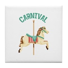 Carnival Tile Coaster