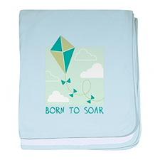 Born To Soar baby blanket