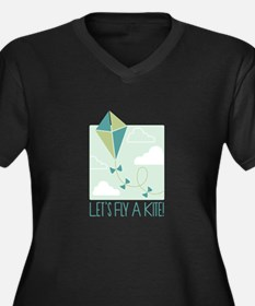 Lets Fly A Kite Plus Size T-Shirt