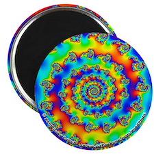 """Fractal R~11 - 2.25"""" Magnet (10 pack)"""