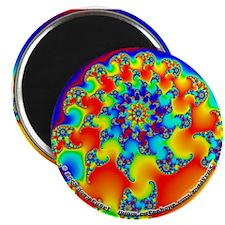 """Fractal R~12 - 2.25"""" Magnet (10 pack)"""