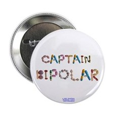 "Captain Bipolar Button 2.25"" Button"