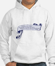 Clever Rumi Quote Hoodie
