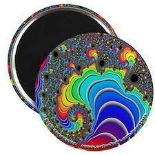 """Fractal R~16 - 2.25"""" Magnet"""