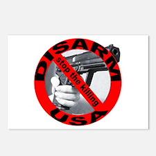 DISARM USA - STOP THE KILLING Postcards (Package o
