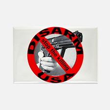 DISARM USA - STOP THE KILLING Rectangle Magnet