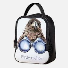 Birdwatcher Bird Watching You Humor Neoprene Lunch