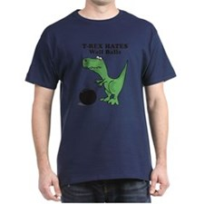 T-Rex Hates Kettlebell Swings T-Shirt