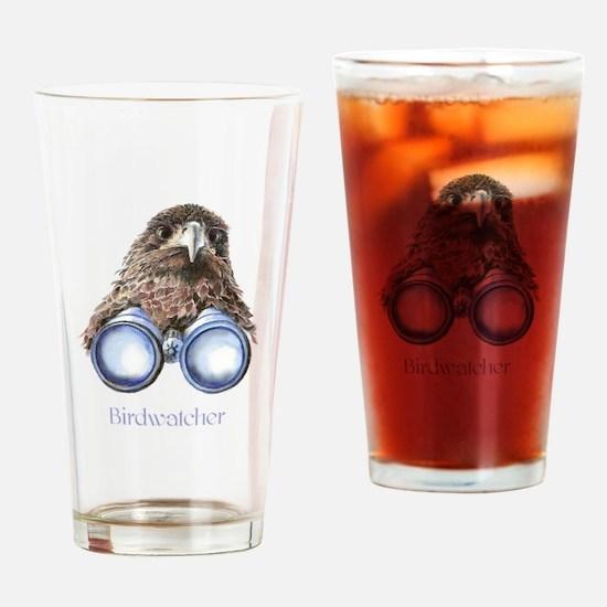 Birdwatcher Bird Watching You Humor Drinking Glass