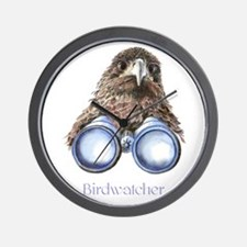 Birdwatcher Bird Watching You Humor Wall Clock