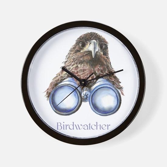Birdwatcher Bird Watching You Humor Wall Clock