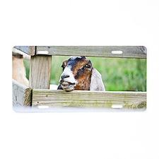 Happy goat Aluminum License Plate