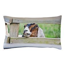 Happy goat Pillow Case