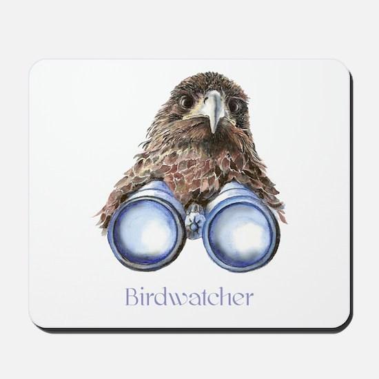 Birdwatcher Bird Watching You Humor Mousepad