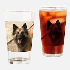 Belgian Shepherd Dog (Tervuren) Drinking Glass