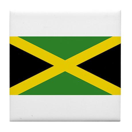 Jamaica Flag Tile Coaster