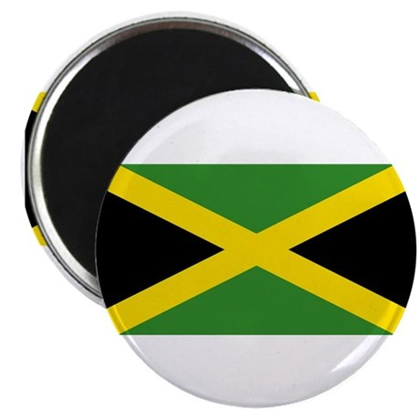 "Jamaica Flag 2.25"" Magnet (100 pack)"