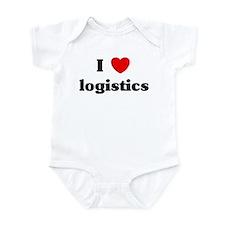 I Love logistics Infant Bodysuit