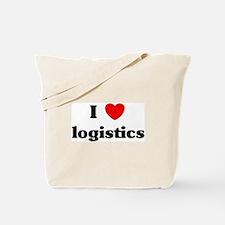 I Love logistics Tote Bag