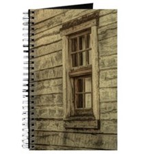 rustic window western country farm house Journal