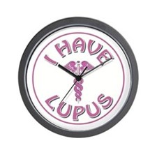 I HAVE LUPUS Wall Clock