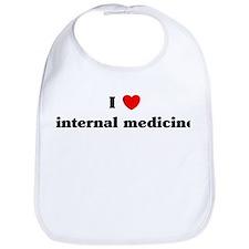 I Love internal medicine Bib