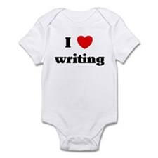 I Love writing Infant Bodysuit