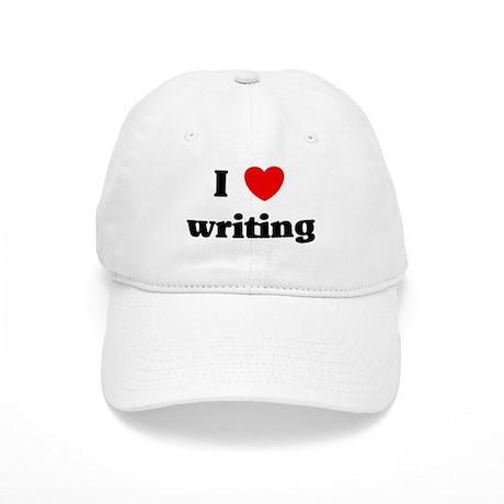 I Love writing Cap