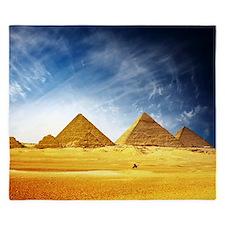 Giza Pyramids King Duvet