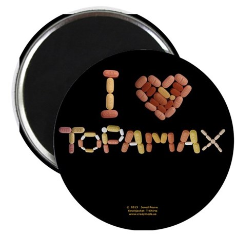 I Heart Topamax Button Magnets