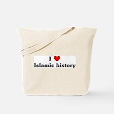 I Love Islamic history Tote Bag